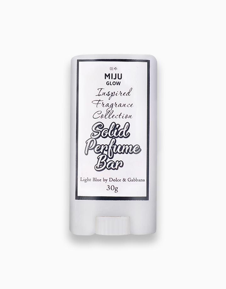 Solid Perfume Bar - D&G Light Blue (30g) by Miju Glow