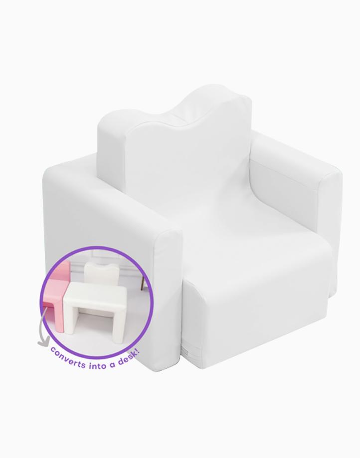 Kiddi Couch by Kiddi Company   Cotton White