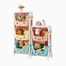 Little hippo smiley storage trolley