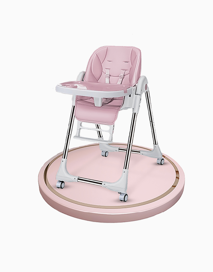 Joey Multifunctional High Chair by Little Hippo | Pink