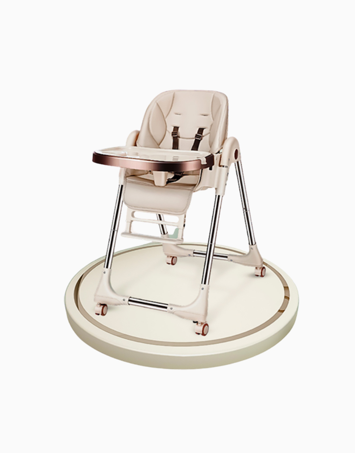 Joey Multifunctional High Chair by Little Hippo | Champagne
