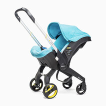 Re doona infant car seat turquoise sky