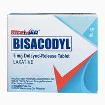 Re ritemed bisacodyl 5mg tab 100box ss ph 4