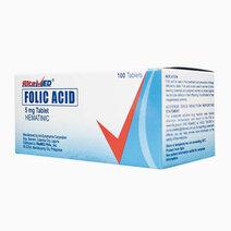 Re ritemed folic acid 5mg tab 100 box ss ph 1