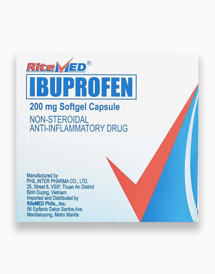 RiteMed Ibuprofen 200Mg Softgelcap 100 Box SS Ph by RiteMed