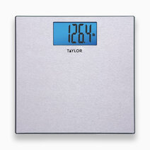 Re taylor textured stainless steel digital scale