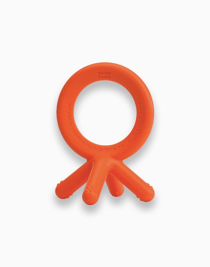 Silicone Teether by Comotomo | Orange