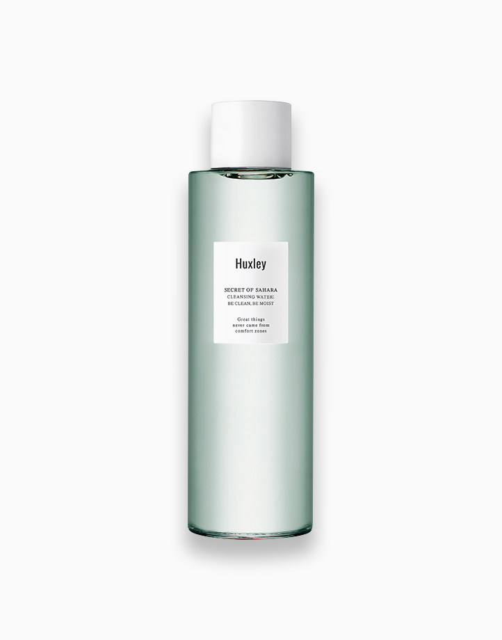 Secret of Sahara Cleansing Water: Be Clean, Be Moist by Huxley