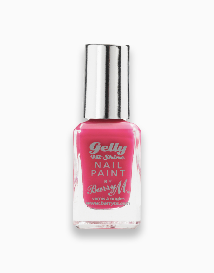 Gelly Hi Shine Nail Paint by Barry M | Pink Punch