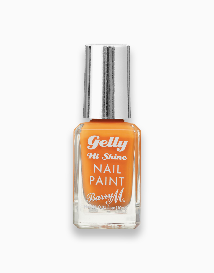 Gelly Hi Shine Nail Paint by Barry M | Mandarin