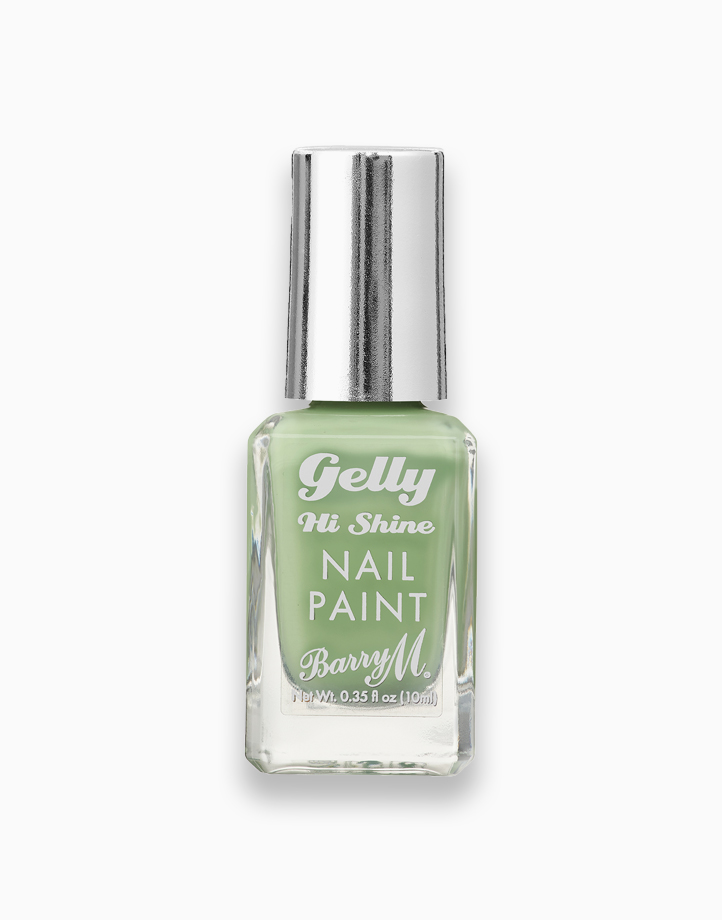 Gelly Hi Shine Nail Paint by Barry M | Pistachio