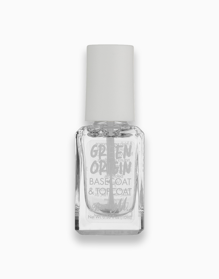 Re green origin nail paint top coat