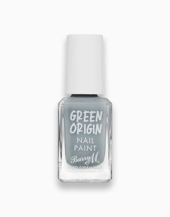 Re green origin nail paint charcoal