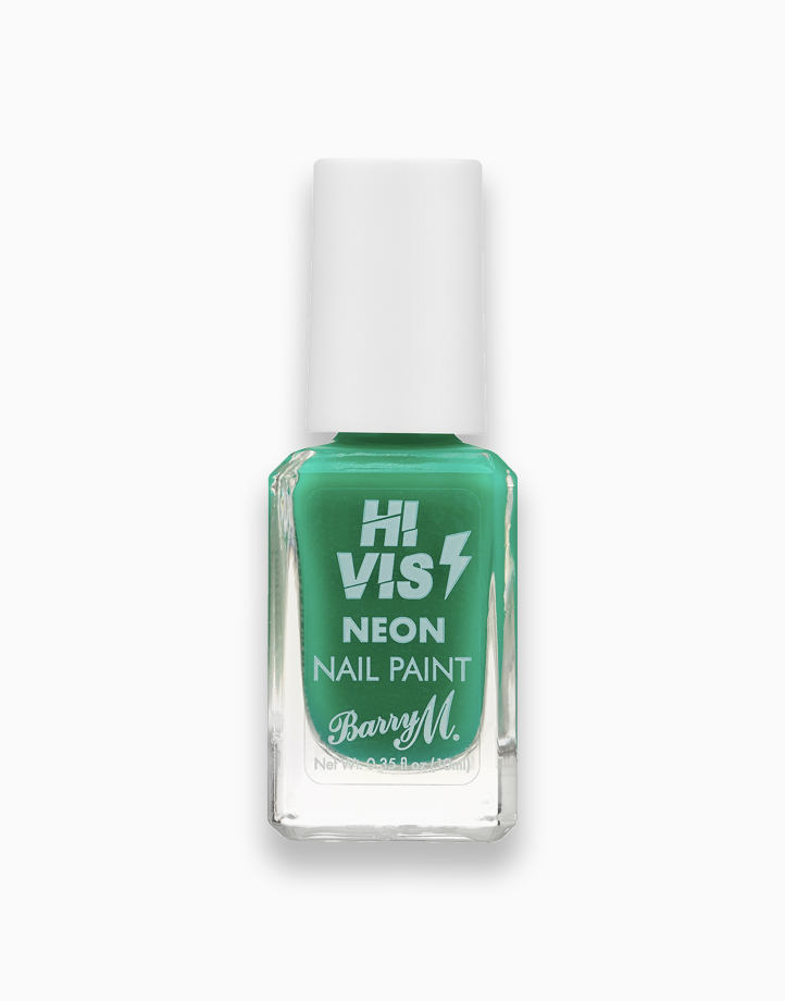 Hi Vis Neon Nail Paint by Barry M   Green Light