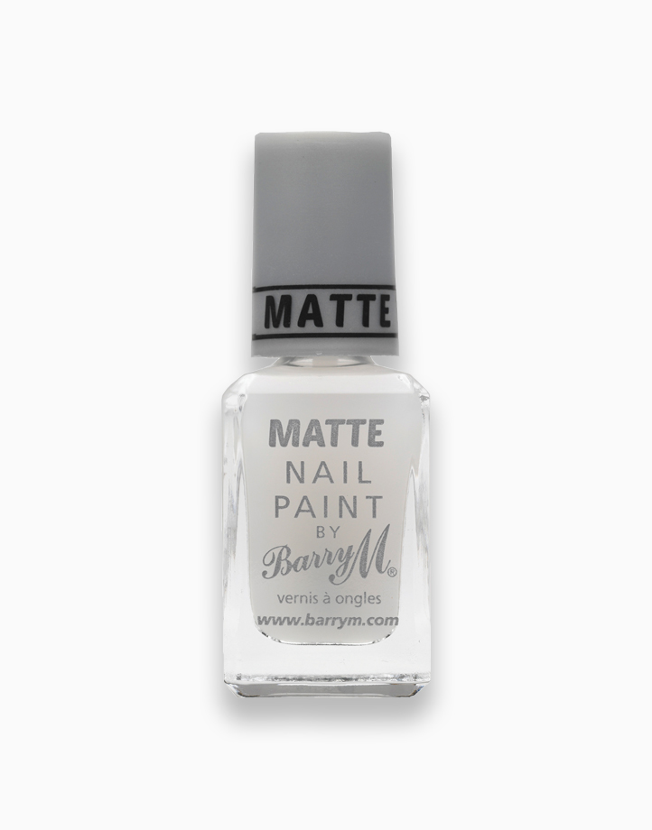 Matte Nail Paint Top Coat by Barry M