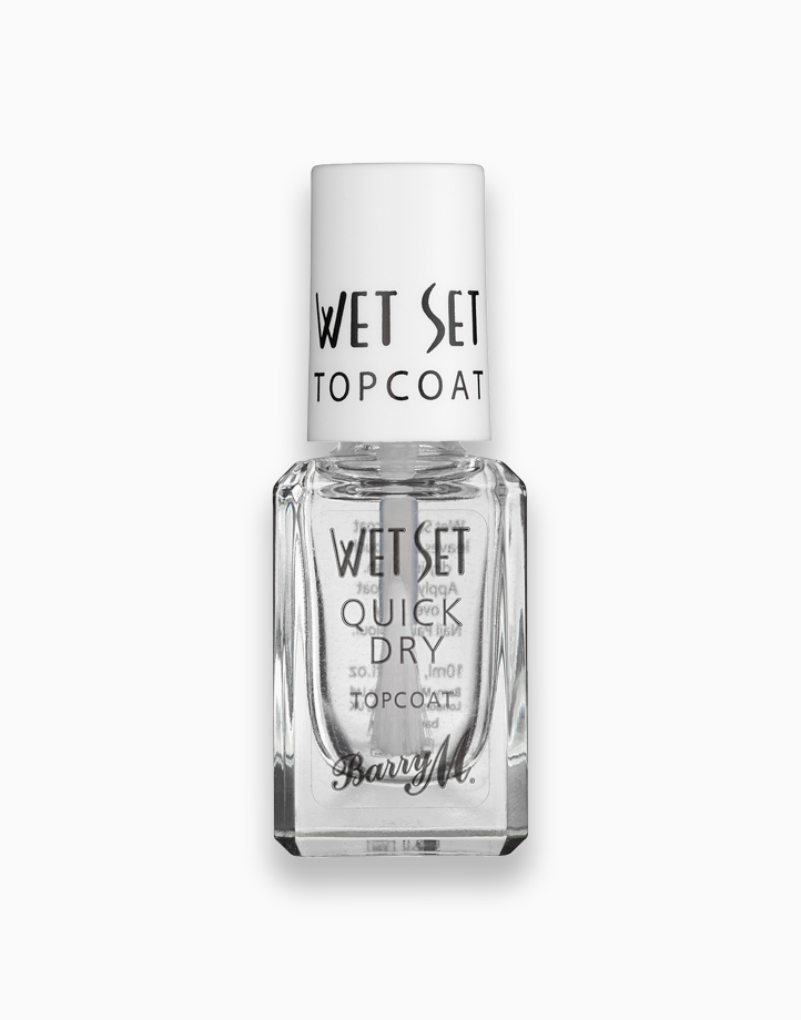 Wet Set Quick Dry Topcoat by Barry M