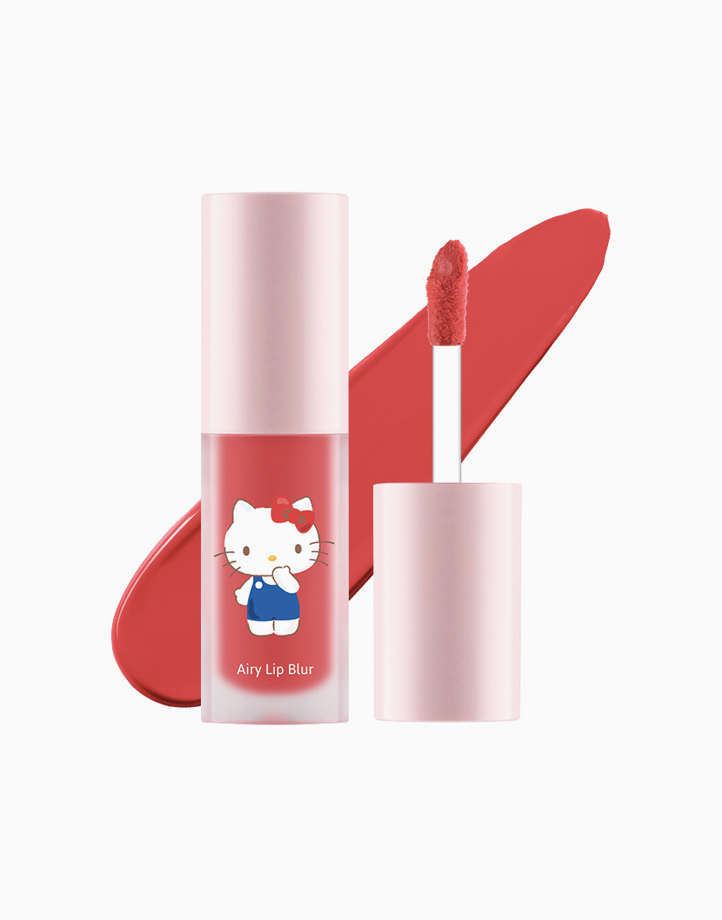 Hello Kitty Airy Lip Blur (4g) by Cathy Doll   #04 Red Rose