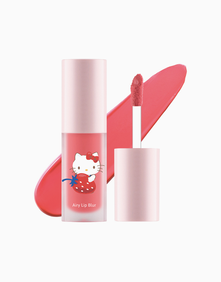 Hello Kitty Airy Lip Blur (4g) by Cathy Doll   #01 Pink Rose