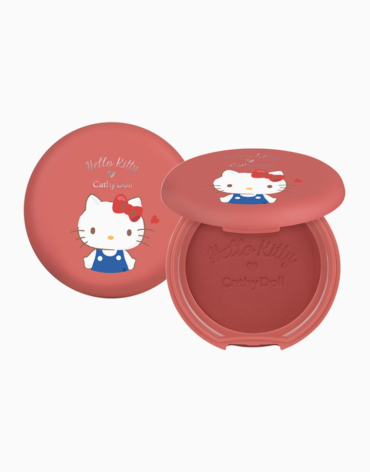 Hello Kitty Cotton Matte Blusher (6.5g) by Cathy Doll | #04 Choco Cherry