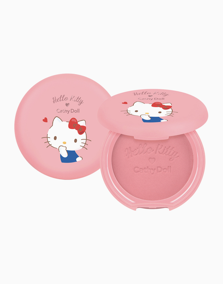 Hello Kitty Cotton Shine Blusher (6.5g) by Cathy Doll | #01 Frozen Strawberry