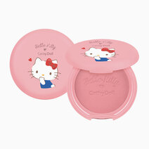 Re hello kitty cotton shine blusher 6.5g 01 frozen strawberry