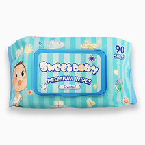 Sweetbaby premium wipes with aloe 90 s