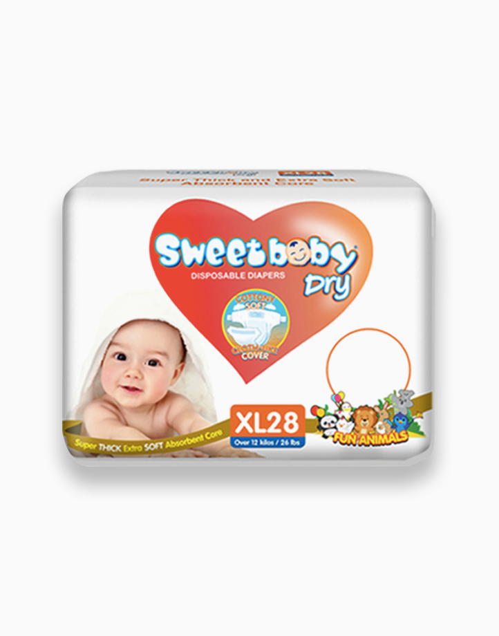 Sweetbaby Dry Econo Pack XL 28s by Sweetbaby