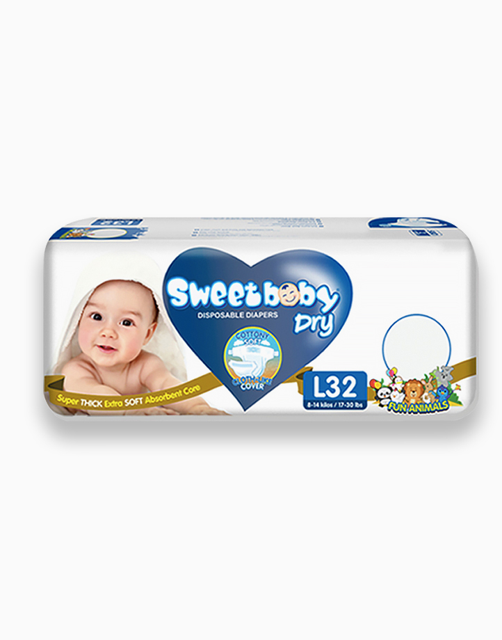 Sweetbaby Dry Econo Pack Large 32s by Sweetbaby
