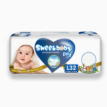 Sweetbaby dry econo pack large 32s
