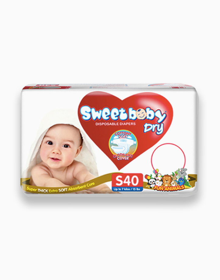 Sweetbaby Dry Econo Pack Small 40s by Sweetbaby