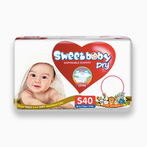 Sweetbaby dry econo pack small 40s