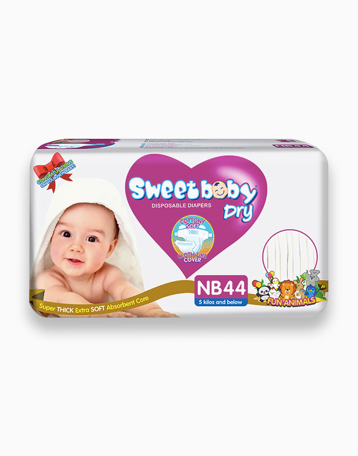 Sweetbaby Dry Econo Pack New Born 44s by Sweetbaby