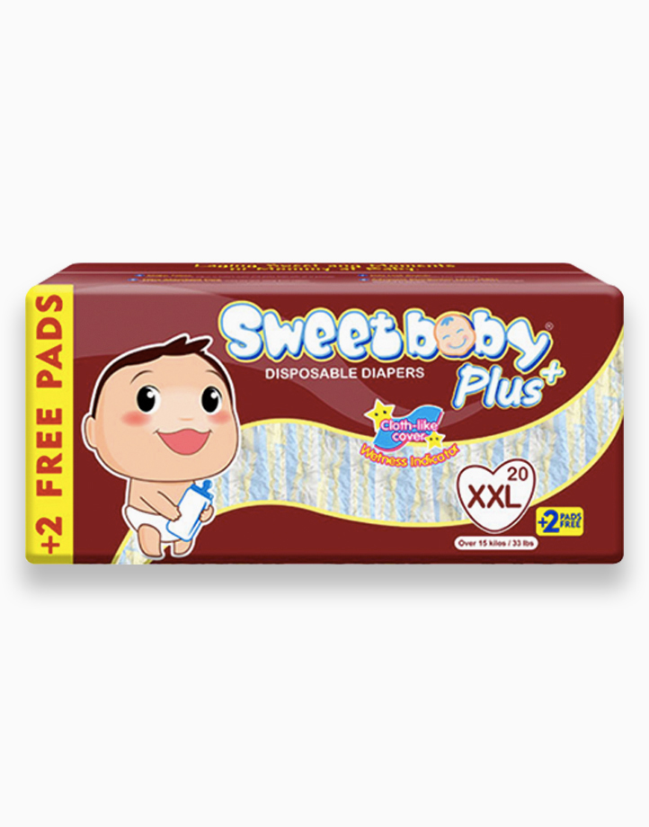 Sweetbaby Plus Big Pack XXL 20s+2 by Sweetbaby