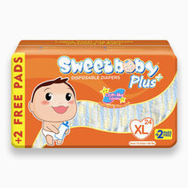 Sweetbaby plus big pack xl 24s 2