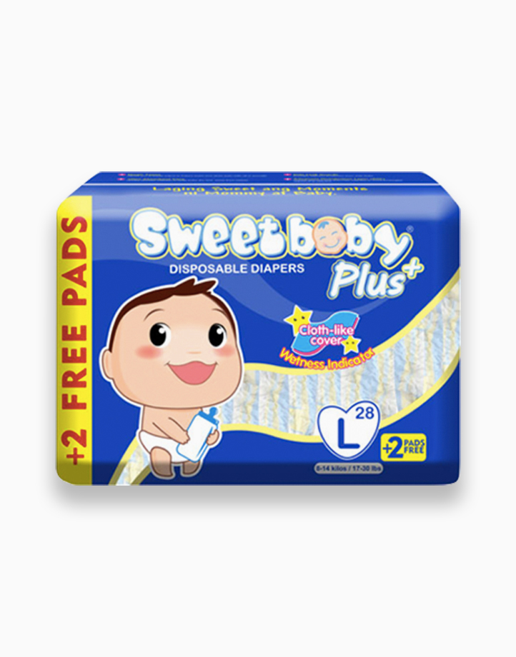Sweetbaby Plus Big Pack Large 28s+2 by Sweetbaby