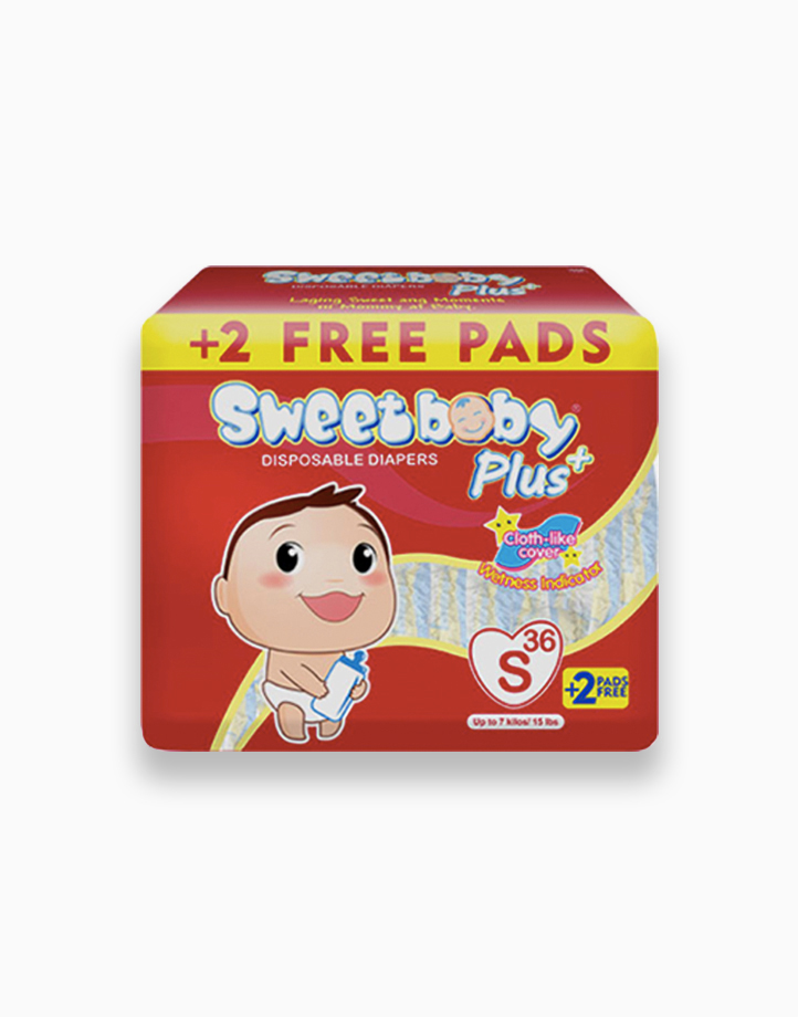 Sweetbaby Plus Big Pack Small 36s+2 by Sweetbaby