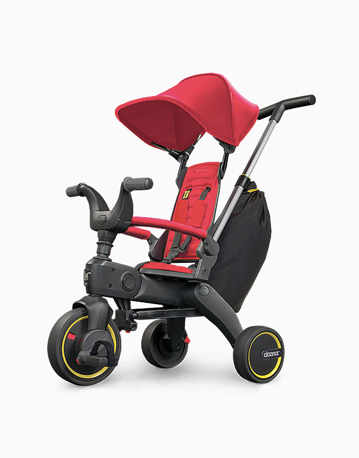 Liki Trike S3 (w Free Rain Cover & Cup Holder) by Doona | Flame Red