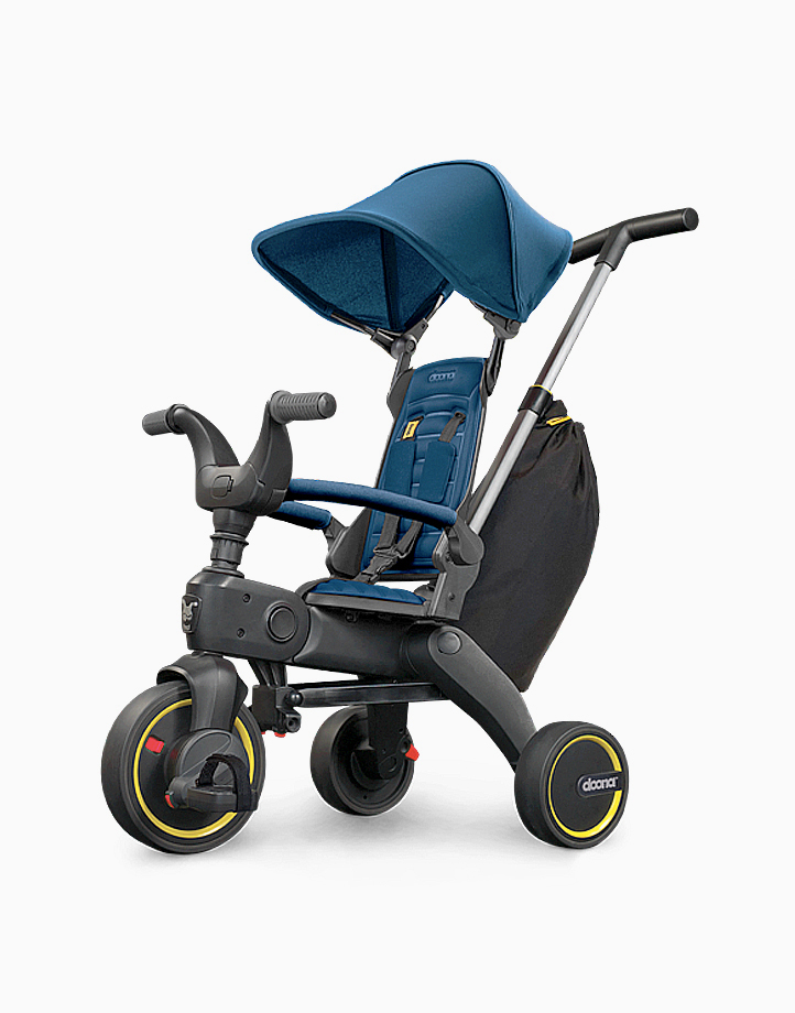 Liki Trike S3 (w Free Rain Cover & Cup Holder) by Doona | Royal Blue
