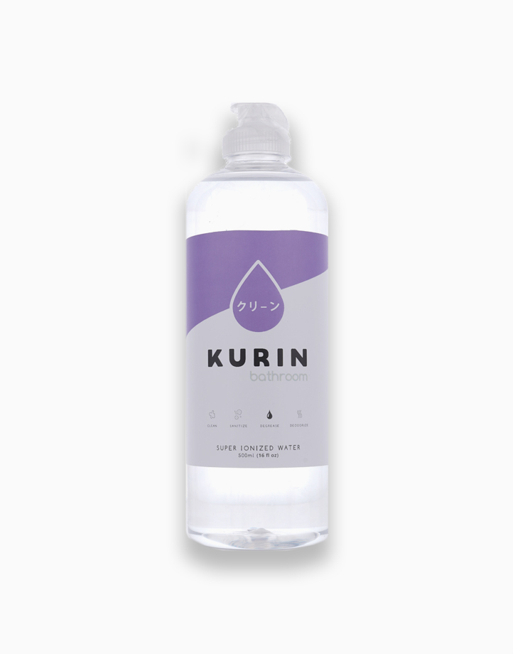 Bathroom Fliptop Super Ionized Water (500ml) by Kurin
