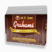My san graham crackers honey singles 25g x 10