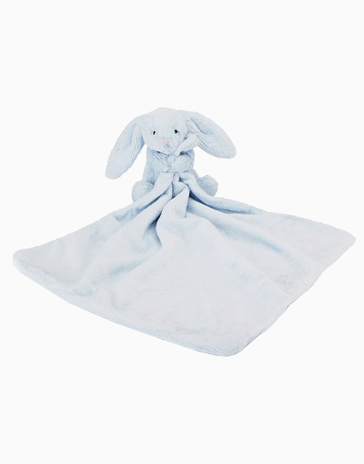 Jellycat Bashful Blue Bunny Soother by Jellycat