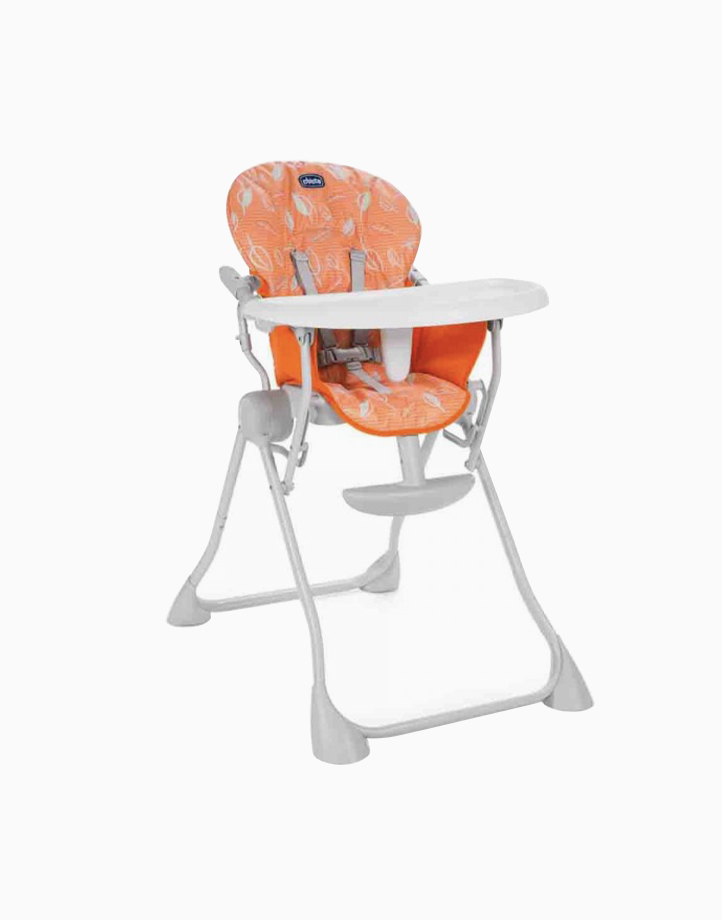 Pocket Meal High Chair by Chicco | Happy Orange