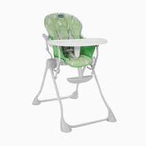 Chicco pocket meal high chair summer green