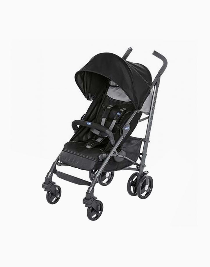 Liteway III Stroller by Chicco   Jet Black