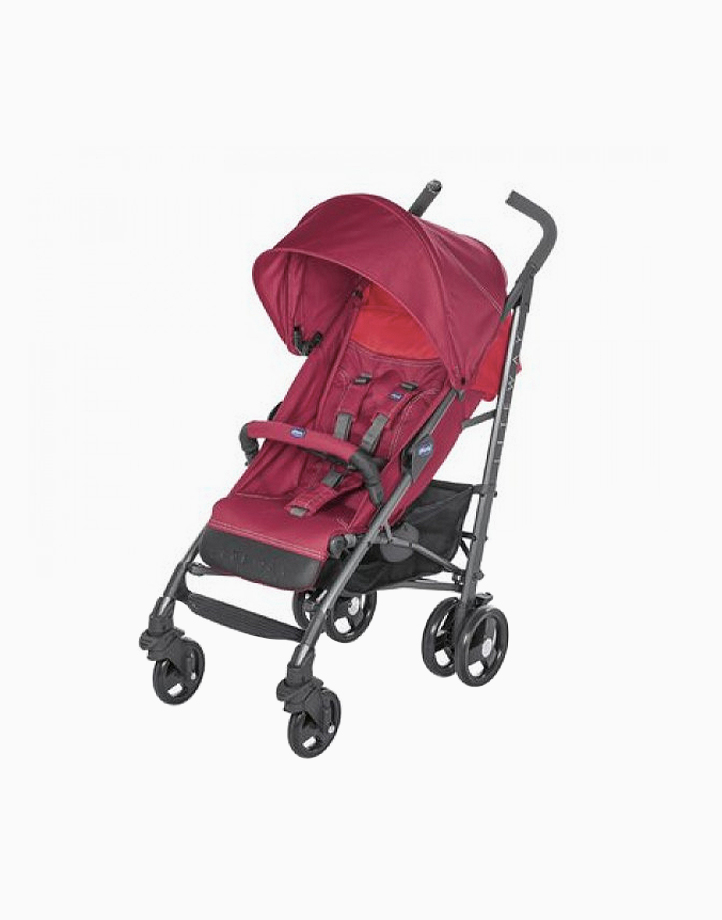 Liteway III Stroller by Chicco   Red Berry