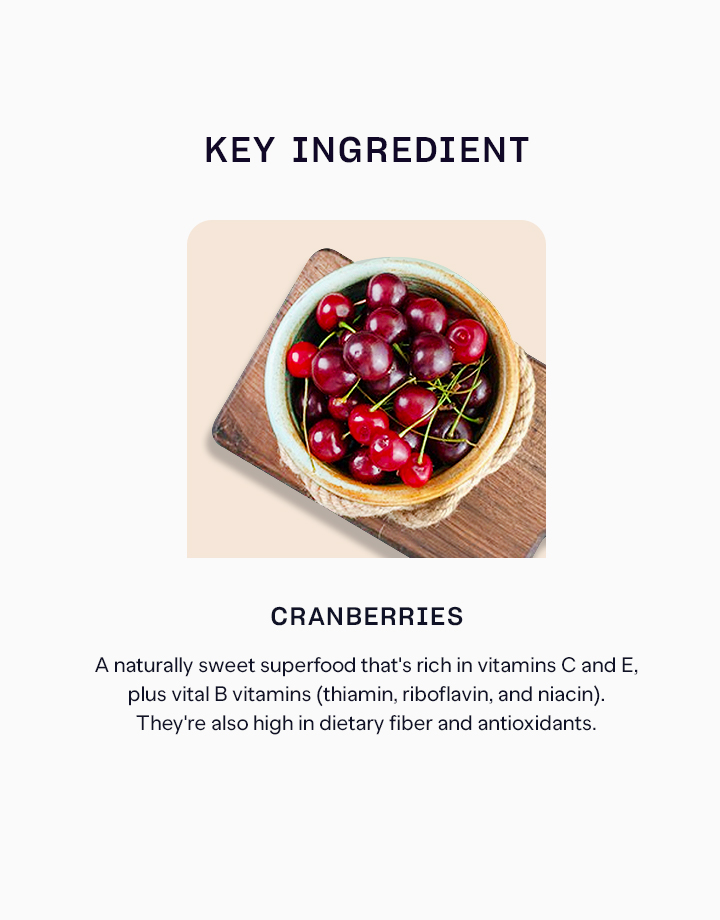 2 organic dried cranberries %28100g%29