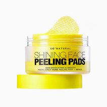 Shining face peeling pads