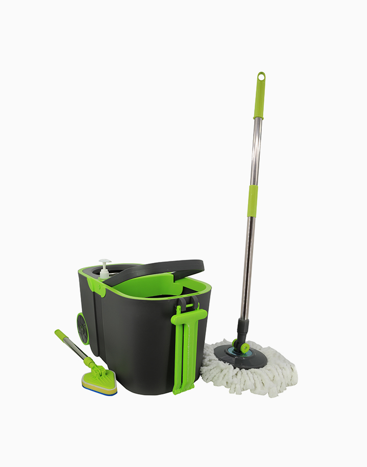 Hi! Spin Mop with Free Scrubber by HI!