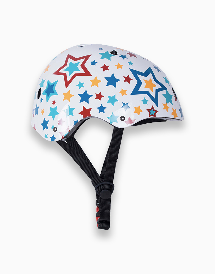 Safety Kids Helmet (Small) by Kiddimoto | Stars
