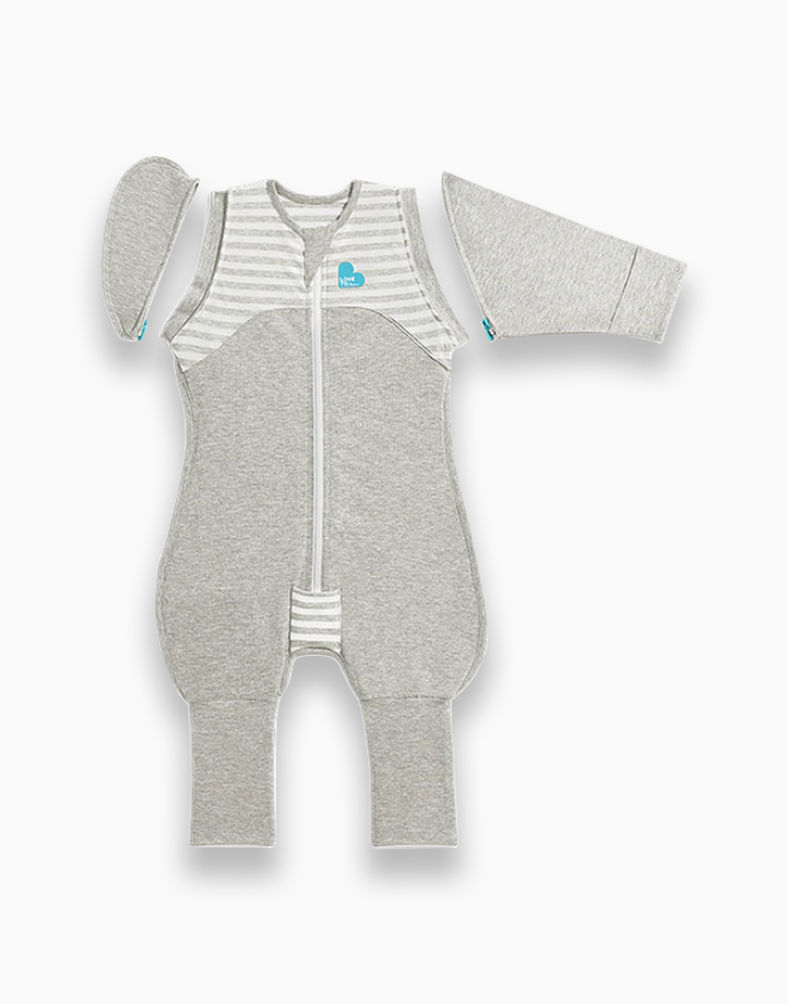 Swaddle UPª Transition Suit 0.1 TOG Grey by Love to Dream | L